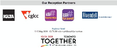 Pre-Conference Reception | IGLTA Convention in Toronto | May 8, 2018