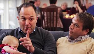 Gay Dads And Newborn Daughter Are Focus Of Insurance Commercial