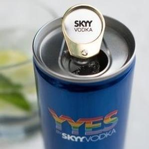 Skyy Vodka launches cans with engagement rings to support LGBT rights
