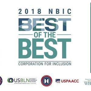 America's 2018 'Best-of-the-Best' Corporations for Inclusion Named by NGLCC and Partners in the National Business Inclusion Consortium