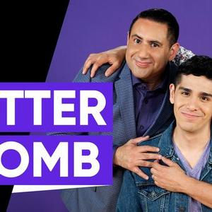 LGBTQFronts announcing Glitterbomb from LATV, representing the QLatinx World in New York in June 2019