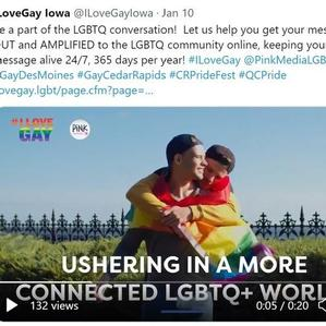 Introducing #ILoveGay Iowa... part of the #ILoveGay Network