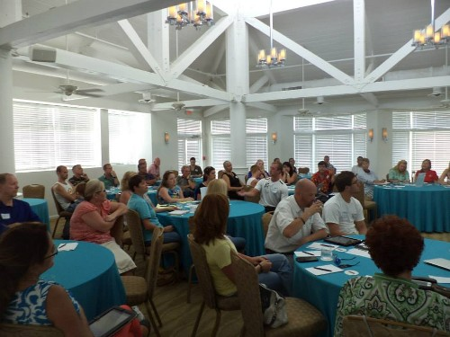 Seminar presentation in Key West - what a great turnout!