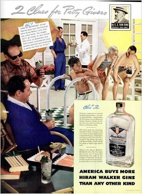 Male Intimacy In American Whiskey Advertising Of The 1930s and 1940s