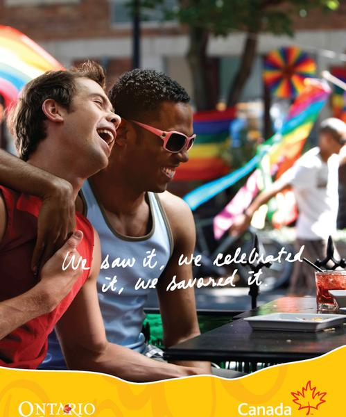 10 Gay Print Ads That Will Make You Proud Of The Mad Men<BR>rukkle has created a list of the top ten gay print ads. The ads from brands like, Gap, Absolut, and Chevy demonstrate their support for the LGBT community.