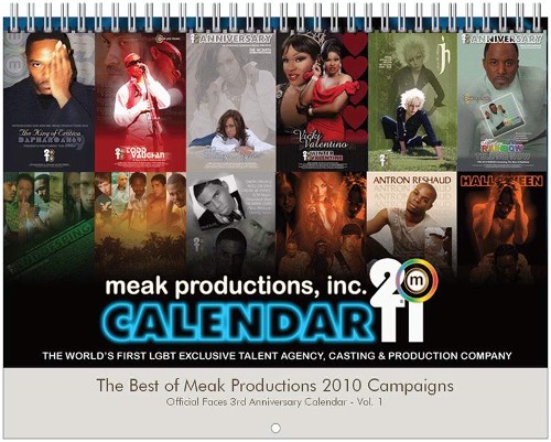 Meak Productions 2011 Wall Calendar-Cover
