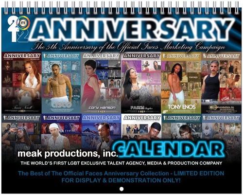 2012 Anniversary Calendar Cover