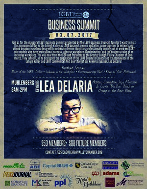 LGBT Business Council Summit - Allentown, PA - Mar 7