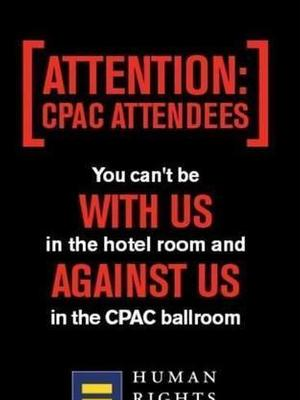The Human Rights Campaign trolled Republicans at CPAC with an ad on Grindr