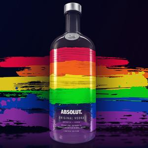 Absolut Launches Limited Edition LGBT Bottle