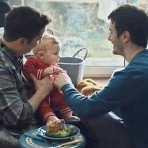 Gay couple who appear in McCain's advert subjected to homophobic abuse